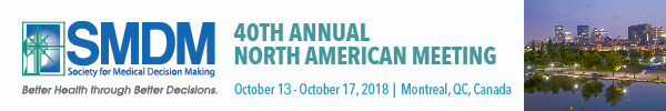 40th Annual Meeting of the Society for Medical Decision Making